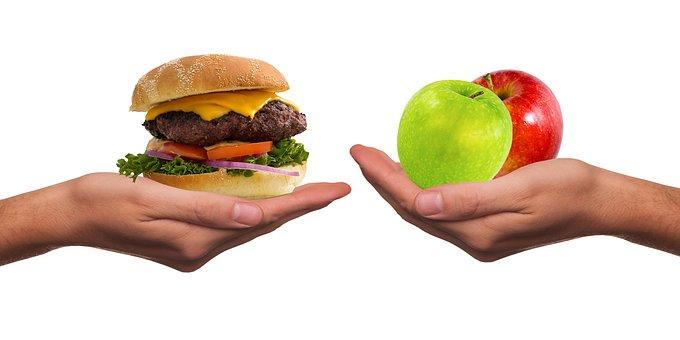 verandering van eetpatroon kan soms behoorlijk helpen